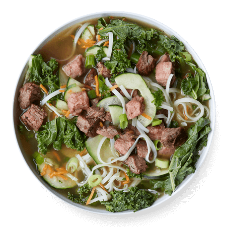 Broth-bowl-spicy-ginger-steak-and-rice-noodle