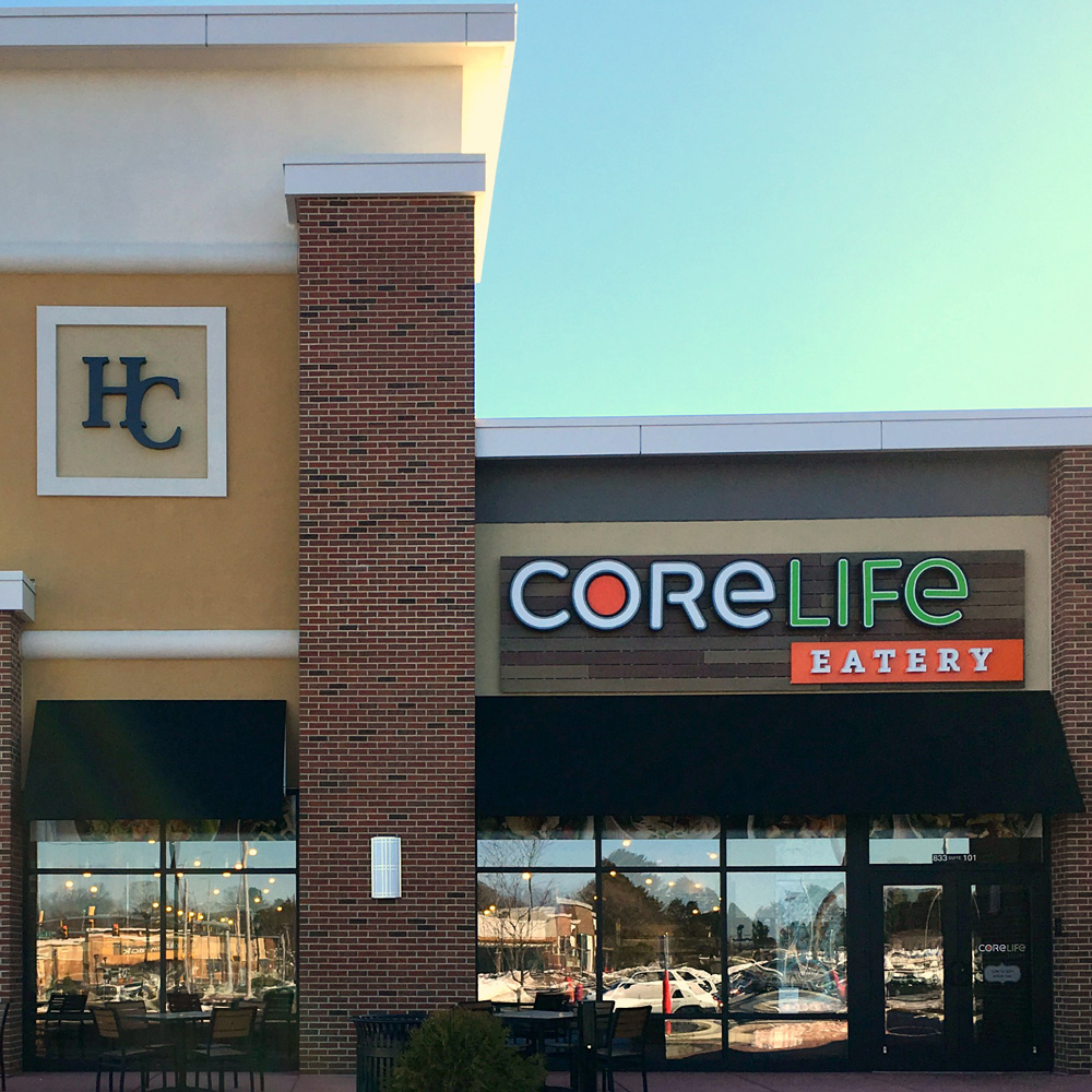 CoreLife Eatery Allentown, PA Storefront