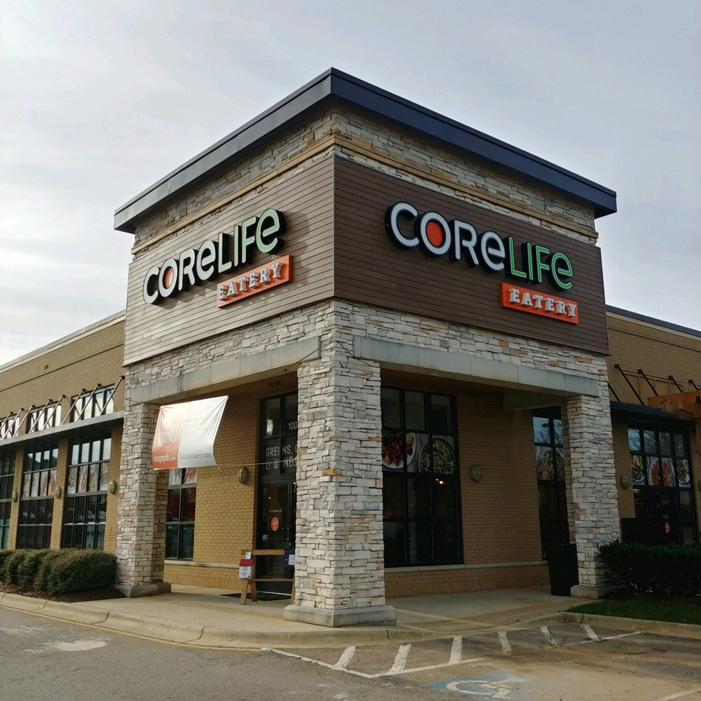 CoreLife Eatery Cary, NC Storefront