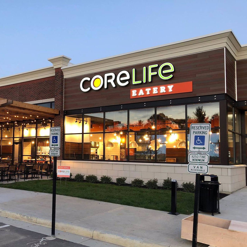 CoreLife Eatery Centerville, OH Storefront