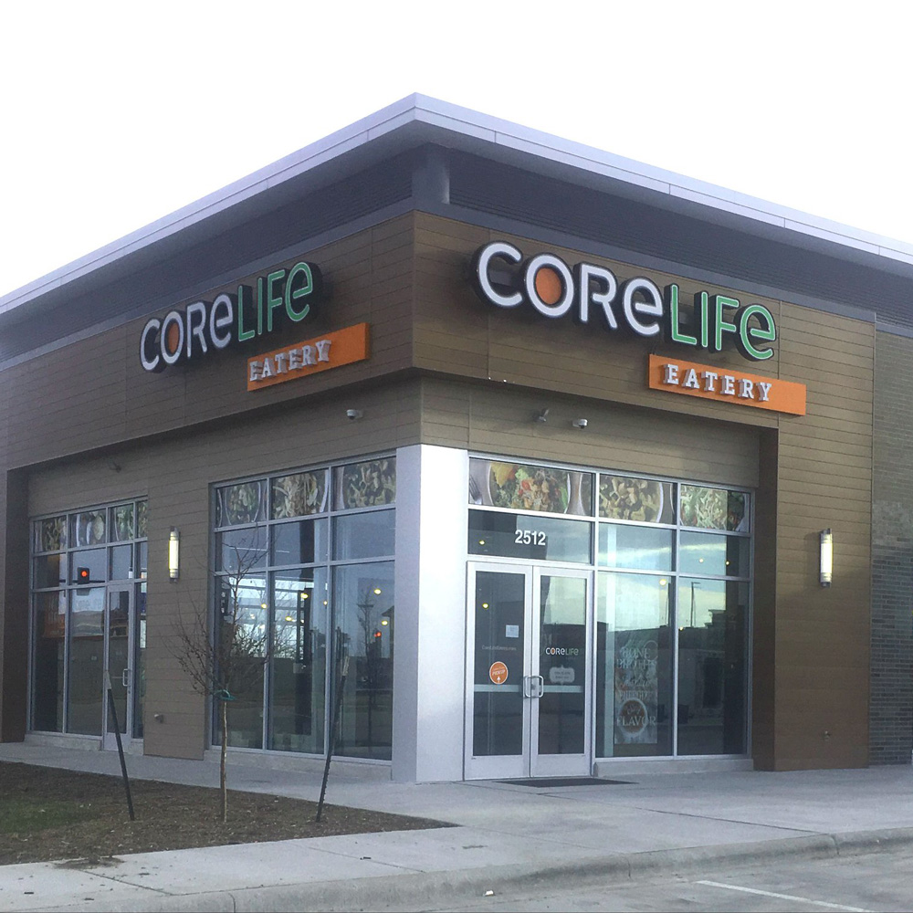 CoreLife Eatery Champaign, IL Storefront