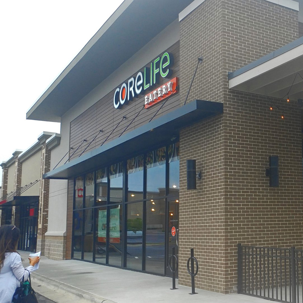 CoreLife Eatery Fayetteville, NC Storefront