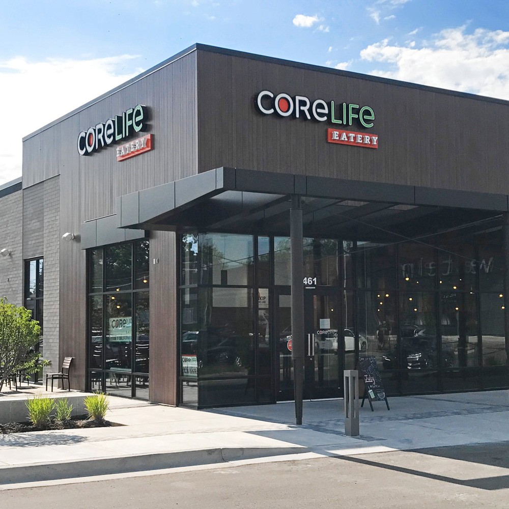CoreLife Eatery Grand Rapids, MI Storefront