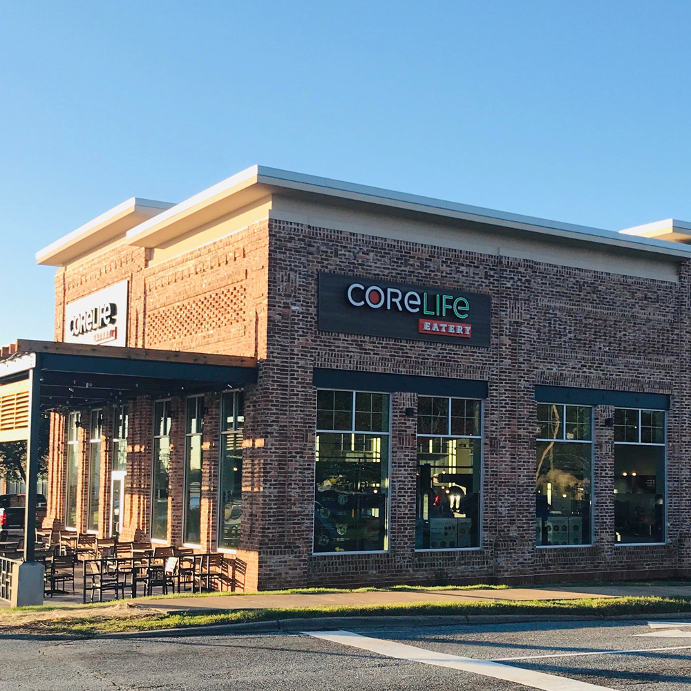 CoreLife Eatery Greensboro, NC Storefront