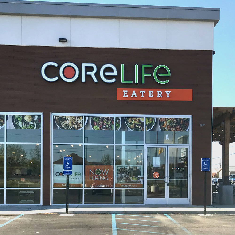 CoreLife Eatery Lafayette, IN Storefront