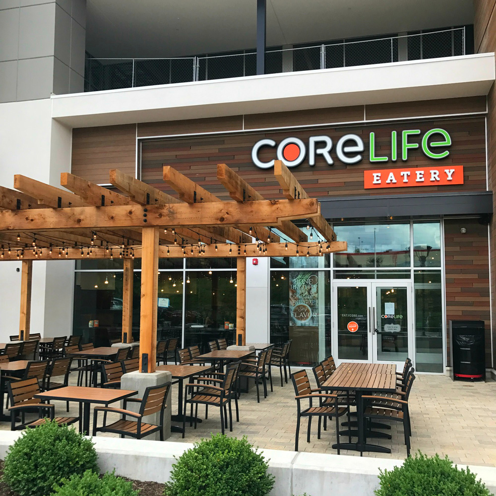 CoreLife Eatery Pittsburgh, PA Storefront