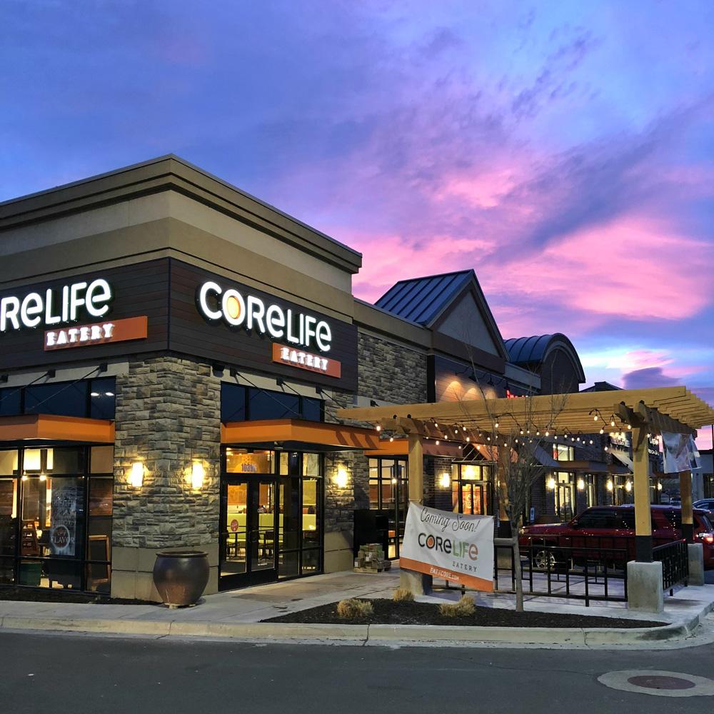 CoreLife Eatery Sandy, UT Storefront