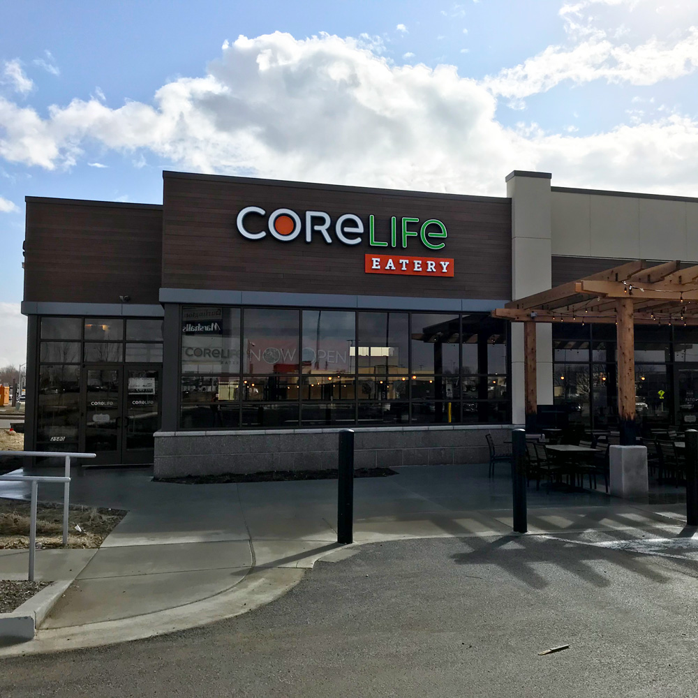 CoreLife Eatery Springfield, IL Storefront