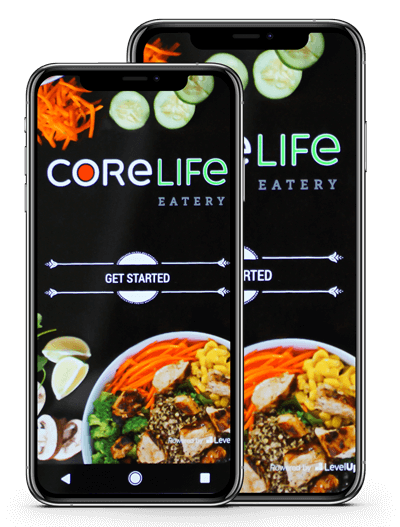 Mobile ordering is easy with CoreLife Eatery, download the app today!
